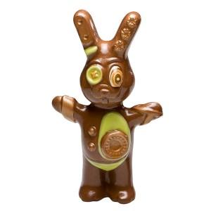 Augustin le lapin en chocolat au lait